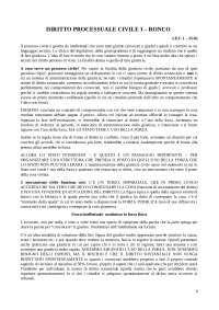 Sbobine Procedura civile 1 Ronco 2019