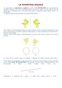 struttura simmetrica assiale