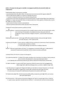 Schemi riassuntivi ECONOMIA E STORIA DELL'UNIONE EUROPEA - Pavanelli, Battistini, Vitali