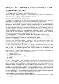 Psicologia della disabilità e dei disturbi dello sviluppo cap. 5,7,8