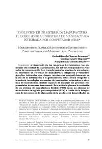 Evolucion de FMS a CIM