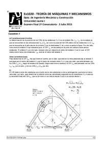 EXAMENES DE TEORIA DE MAQUINAS