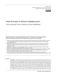 Potencial de Ação do estimulo a adaptação neural