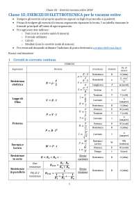 compiti elettrotecnica