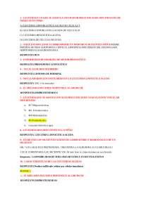 Preguntas Cuestionario De Hematologia Docsity