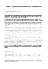 Riassunto diritto dell'economia prof. colavitti