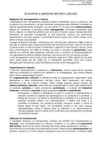 Economia e gestione dei beni culturali (prof.ssa Massi)