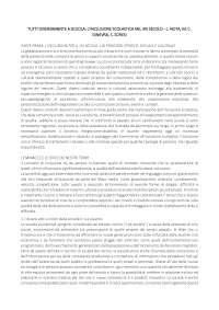 TUTTI DIVERSAMENTE A SCUOLA: L'INCLUSIONE SCOLASTICA NEL XXI SECOLO - L. NOTA, S. SORESI, M. C. GINEVRA