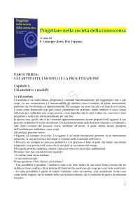 Progettare nella società della conoscenza A cura di P. Giuseppe Rossi, Elio Toppano