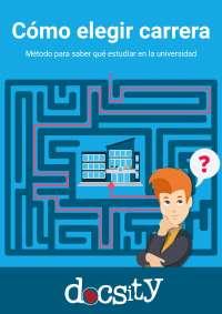 Cómo elegir carrera - Ebook Docsity