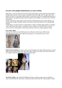 tesina caccamo di analisi degli stili e della moda