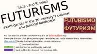 FUTURISM: art, politics and propaganda