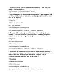 preguntas de examen MATERIA CONSTITUCIONAL