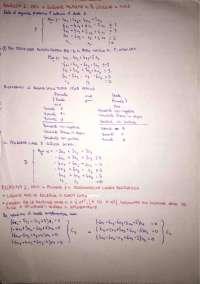 Metodi di Ottimizzazione Prove d'esame svolte e tracce