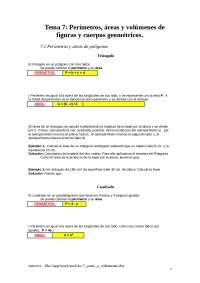 Matematicas Geometría