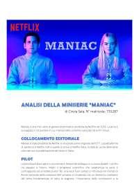 Tesina Serie Maniac