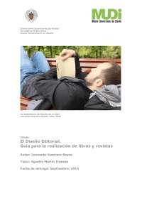 El diseño editorial. Guía para la realización de libros y revistas