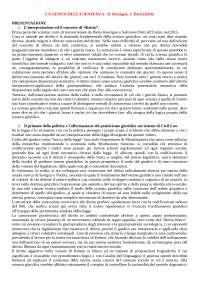 Riassunto La Genesi Della Sentenza -  Rescigno, Patti