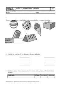 Cuerpos geométricos 5 primaria