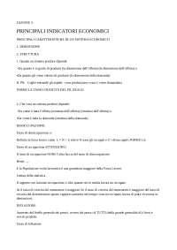 appunti macroeconomia
