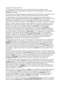 prova d'esame spagnolo 3 ELI