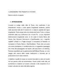 esame progetto turismo degli eventi professoressa Serena Vicari Università bicocca Turismo magistrale