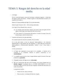 Tema 5 Historia del derecho