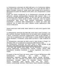 La Dichiarazione universale dei diritti dell'uomo e la Costituzione italiana.docx