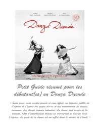 Petit guide résumé pour les débutant(es) en danza duende