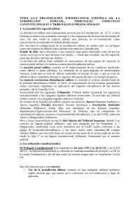 Organizacion jurisdiccional española II