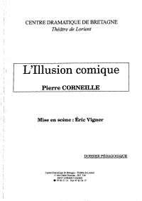 L'illusion comique, Pierre Corneille