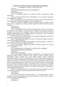 consti 1812 trabajo historia del derecho