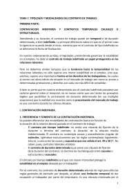 Derecho del trabajo. Tema 7