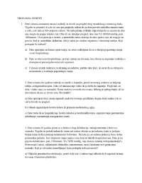 Trovanje pedijatrija za seminare, Vežbe' predlog Pedijatrija