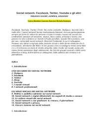 """""""Social network. Facebook, Twitter, Youtube e gli altri: relazioni sociali, estetica, emozioni"""" - Enrico Menduni,Giacomo Nencioni,Michele Pannozzo"""