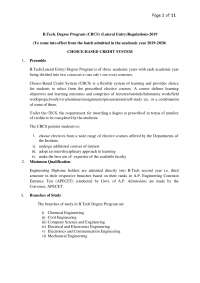Sri Venkateswara University College of engineering, Schemes and Mind Maps for Engineering