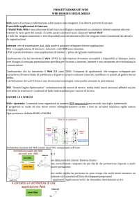 Progettazione siti web - Prof Agosti