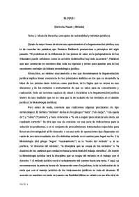 TEMA 1 ARGUMENTACIÓN JURIDICA