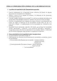 TEMA 1 DERECHO DE LA SEGURIDAD SOCIAL I