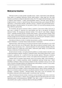 Biohemija vezbe - Mokracna kiselina, Vežbe' predlog Biologija