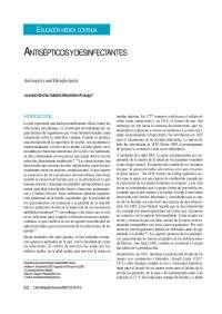 Antisepticos Y Desinfectantes Apuntes De Farmacología Docsity