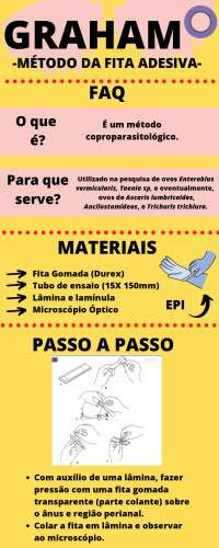 enterobius vermicularis tecnica de graham)