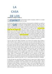 Casa De Los Espíritus Isabel Allende Docsity