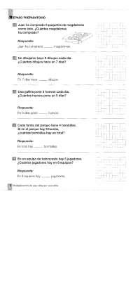Problemas De Matematicas 4 Primaria Suma Resta Y Multiplicacion Docsity