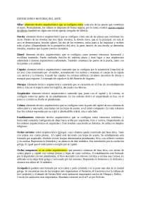 Definiciones Historia Del Arte Ebau Docsity