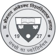 Dr. Bhim Rao Ambedkar University - Logo