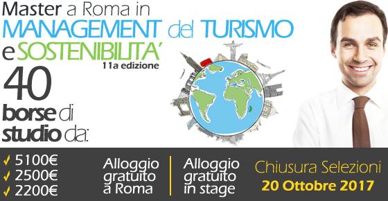 Master in Management del Turismo e Sostenibilità