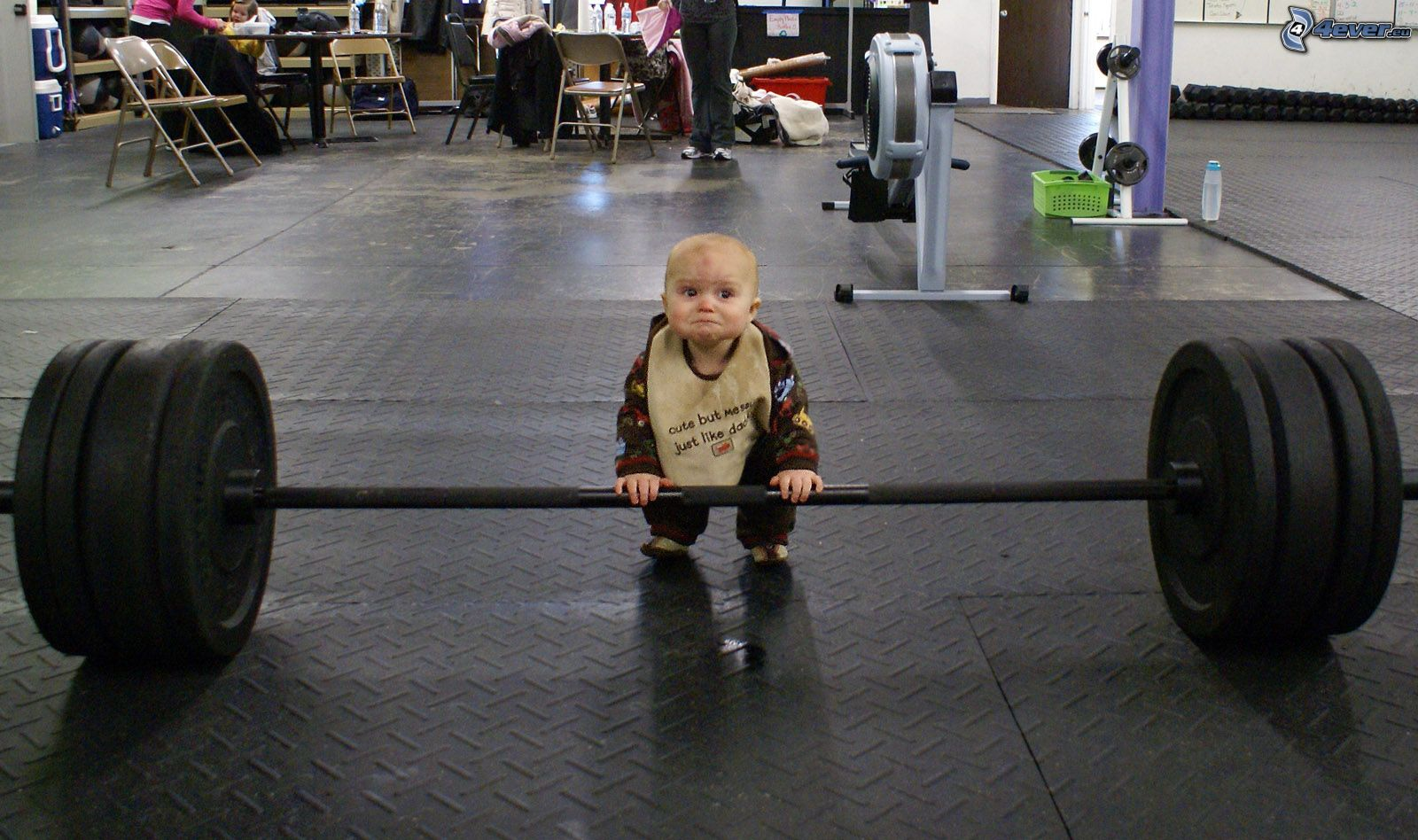 bambino, potenziamento muscolare, palestra 149578
