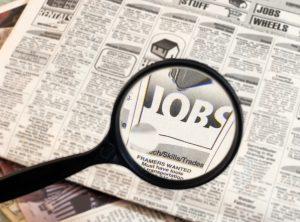 Il lavoro di cercare lavoro