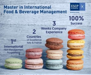 ESCP Europe Business School: Master in International Food and Beverage Management